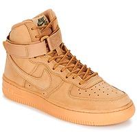 鞋子 儿童 高帮鞋 Nike 耐克 AIR FORCE 1 HIGH WB GRADE SCHOOL Miel