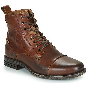 鞋子 男士 短筒靴 Levi's 李维斯 EMERSON 棕色