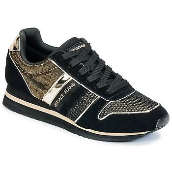 鞋子 女士 球鞋基本款 Versace Jeans LETRE 黑色 / 金色