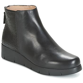 鞋子 女士 短筒靴 Unisa FANI 黑色