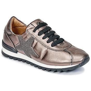 鞋子 女孩 球鞋基本款 Unisa DONYA 古銅色