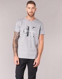 衣服 男士 短袖体恤 Calvin Klein Jeans TEE RE-ISSUE CN REGULAR FIT TEE SS 灰色