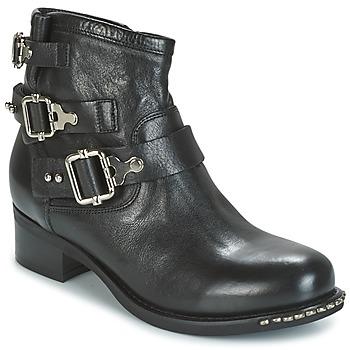 鞋子 女士 短筒靴 MIMMU DIMA 黑色