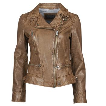 衣服 女士 皮夾克/ 人造皮革夾克 Oakwood VIDEO 棕色