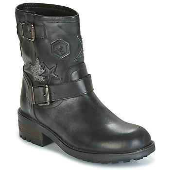 鞋子 女士 短筒靴 Meline SCARPA 黑色