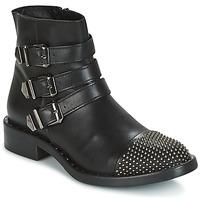 鞋子 女士 短筒靴 Meline PESCINO 黑色