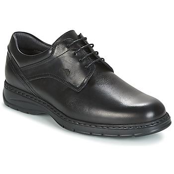 鞋子 男士 德比 Fluchos 富乐驰 CRONO 黑色