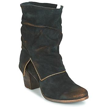 鞋子 女士 都市靴 Papucei JAYNA 黑色