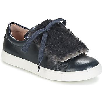 鞋子 女孩 球鞋基本款 Acebo's ALBA 海蓝色
