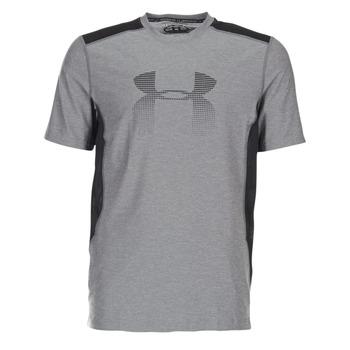 衣服 男士 短袖体恤 Under Armour 安德玛 UA RAID GRAPHIC SS 灰色 / 黑色