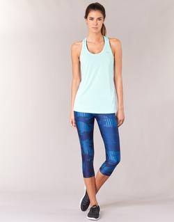 衣服 女士 紧身裤 Under Armour 安德玛 UA HG ARMOUR GRAPHIC CAPRI 蓝色