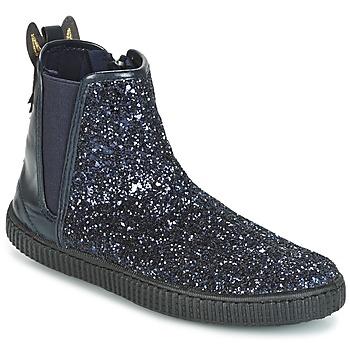 鞋子 女孩 短筒靴 Chipie JARIOGLIT 海蓝色