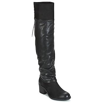 鞋子 女士 绑腿 Mjus SHAGGY 黑色