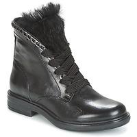 鞋子 女士 短筒靴 Mjus CAFE LACE 黑色