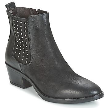 鞋子 女士 短靴 Mjus FRESNO STUDS 黑色