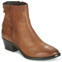 鞋子 女士 短筒靴 Mjus FRESNO ZIP 棕色