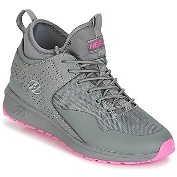 鞋子 女孩 轮滑鞋 Heelys PIPER 灰色 / 玫瑰色