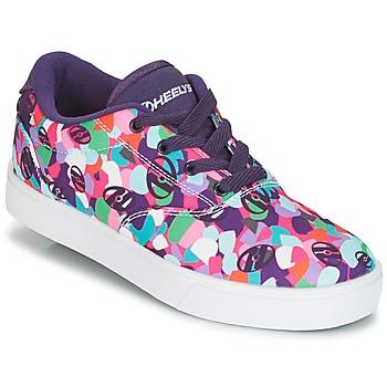 鞋子 女孩 轮滑鞋 Heelys LAUNCH 紫罗兰 / 多彩