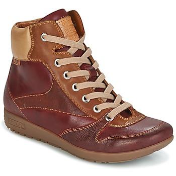 鞋子 女士 高帮鞋 Pikolinos 派高雁 LISBOA W67 棕色