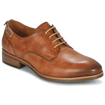 鞋子 女士 德比 Pikolinos 派高雁 ROYAL W4D 米色
