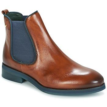 鞋子 女士 短筒靴 Pikolinos 派高雁 ROYAL W5M 棕色