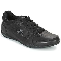 鞋子 男士 球鞋基本款 Kappa 卡帕 PARHELIE 黑色 / 灰色