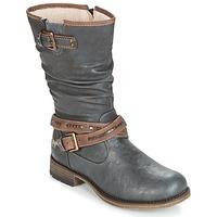 鞋子 女士 都市靴 Mustang ISALBA 灰色