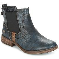 鞋子 女士 短筒靴 Mustang NANI 海蓝色