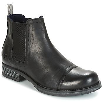 鞋子 男士 短筒靴 Mustang MELI 黑色