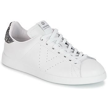 鞋子 女士 球鞋基本款 Victoria 维多利亚 DEPORTIVO BASKET PIEL 白色 / 灰色