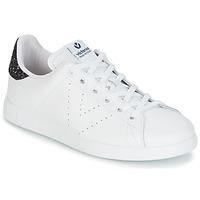 鞋子 女士 球鞋基本款 Victoria 维多利亚 DEPORTIVO BASKET PIEL 白色 / 蓝色