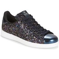 鞋子 女士 球鞋基本款 Victoria 维多利亚 DEPORTIVO BASKET GLITTER 海蓝色