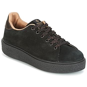 鞋子 女士 球鞋基本款 Victoria 维多利亚 DEPORTIVO SERRAJE P. NEGRO 黑色