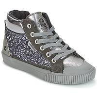 鞋子 女孩 高帮鞋 Victoria 维多利亚 BOTA PIEL PU/GLITTER 银灰色