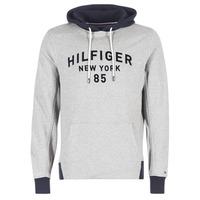 衣服 男士 卫衣 Tommy Hilfiger ALAN HDD 1/2 ZIP L/S VF 灰色 / 海蓝色