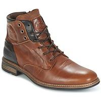 鞋子 男士 短筒靴 Bullboxer MOHA 棕色