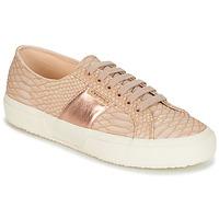 鞋子 女士 球鞋基本款 Superga 2750 PU SNAKE W 裸色
