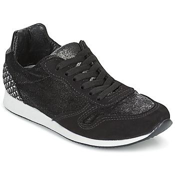 鞋子 女士 球鞋基本款 Ippon Vintage RUN VELVET 黑色