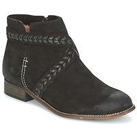 鞋子 女士 短筒靴 MTNG DI 黑色