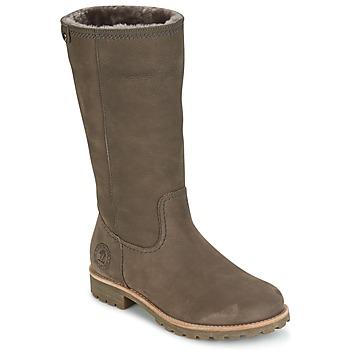 鞋子 女士 都市靴 Panama Jack 巴拿马 杰克 BAMBINA 灰色
