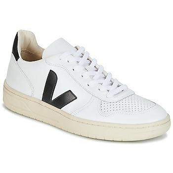鞋子 球鞋基本款 Veja V-10 白色 / 黑色