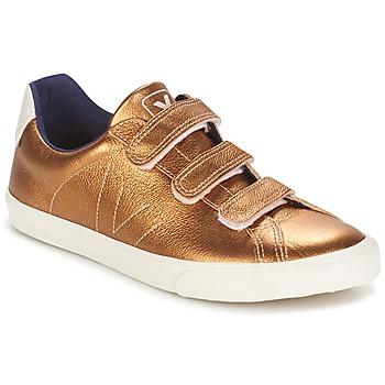 鞋子 女士 球鞋基本款 Veja 3 LOCK 琥珀色