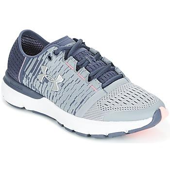 鞋子 女士 跑鞋 Under Armour 安德玛 UA W SPEEDFORM GEMINI 3 GR 银灰色