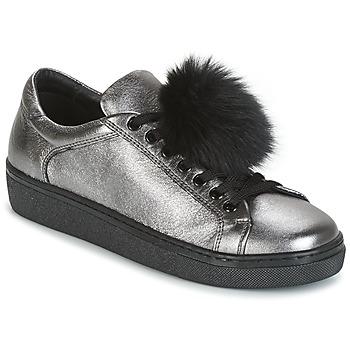 鞋子 女士 球鞋基本款 Tosca Blu CERVINIA POM PON 銀灰色