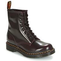 鞋子 女士 短筒靴 Dr Martens 1460 红色 / 樱桃红