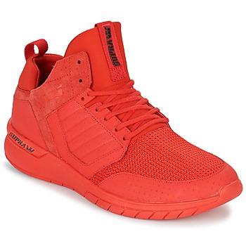 鞋子 男士 球鞋基本款 Supra METHOD 红色