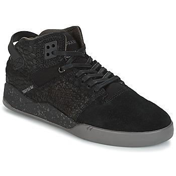 鞋子 高帮鞋 Supra SKYTOP III 黑色 / 灰色