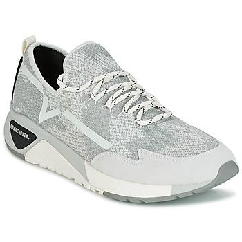 鞋子 男士 球鞋基本款 Diesel 迪赛尔 S-KBY 灰色