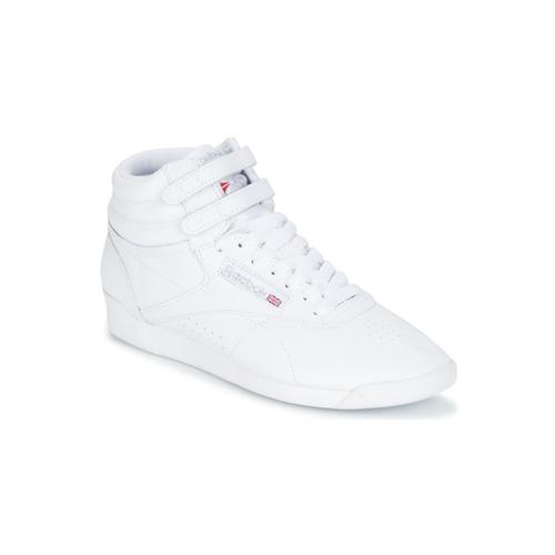 鞋子 女士 球鞋基本款 Reebok Classic F/S HI 白色 / 银色