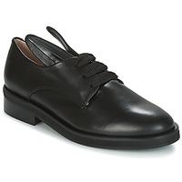鞋子 女士 德比 Minna Parikka BUNNY LACE UP 黑色